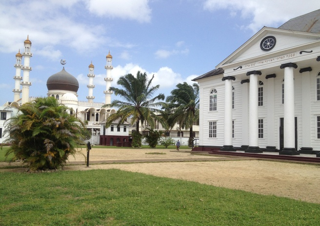 surinam mosque and synagogue